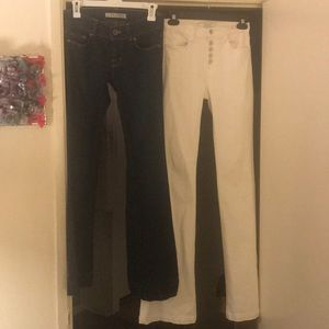 2 pairs of J BRAND jeans size 26